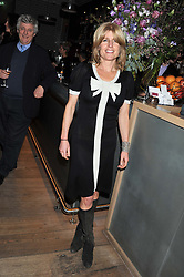 RACHEL JOHNSON at a dinner hosted by Marlon & Nadya Abela at Cassis 232-236 Brompton Road, London to thank customers & friends for their custom held on 9th February 2012.