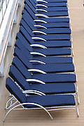 Celebrity Solstice Launch, Miami, Florida..Deck chairs