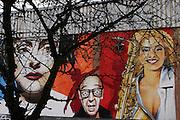 Berlin: graffiti in Mitte area
