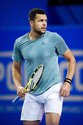 February 8, 2019 - Montpellier, France, FRANCE - Jo Wilfried Tsonga  (Credit Image: © Panoramic via ZUMA Press)