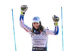 March 16, 2019 - Al Tarter, Andorra - Petra Vlhova of Slovakia Ski Team, after finish in 2nd place at Ladies Giant Slalom Audi FIS Ski World Cup, on March 16, 2019 in El Tarter, Andorra. (Credit Image: © Joan Cros/NurPhoto via ZUMA Press)