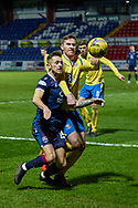 Coll Donaldson of Ross County makes an attack during the Scottish Premiership match between Ross County FC and St Johnstone FC at the Global Energy Stadium, Dingwall, Scotland on 2 January 2021