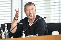 30 AUG 2020, BERLIN/GERMANY:<br /> Johann Saathoff, Mdb, SPD; Paul-Loebe-Haus, Deutscher Bundestag<br /> IMAGE: 20200830-01-146
