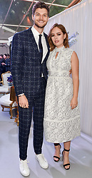 Jim Chapman and Tanya Burr at the Glamour Women of The Year Awards 2017 in association with Next held in Berkeley Square Gardens, London England. 6 June 2017.