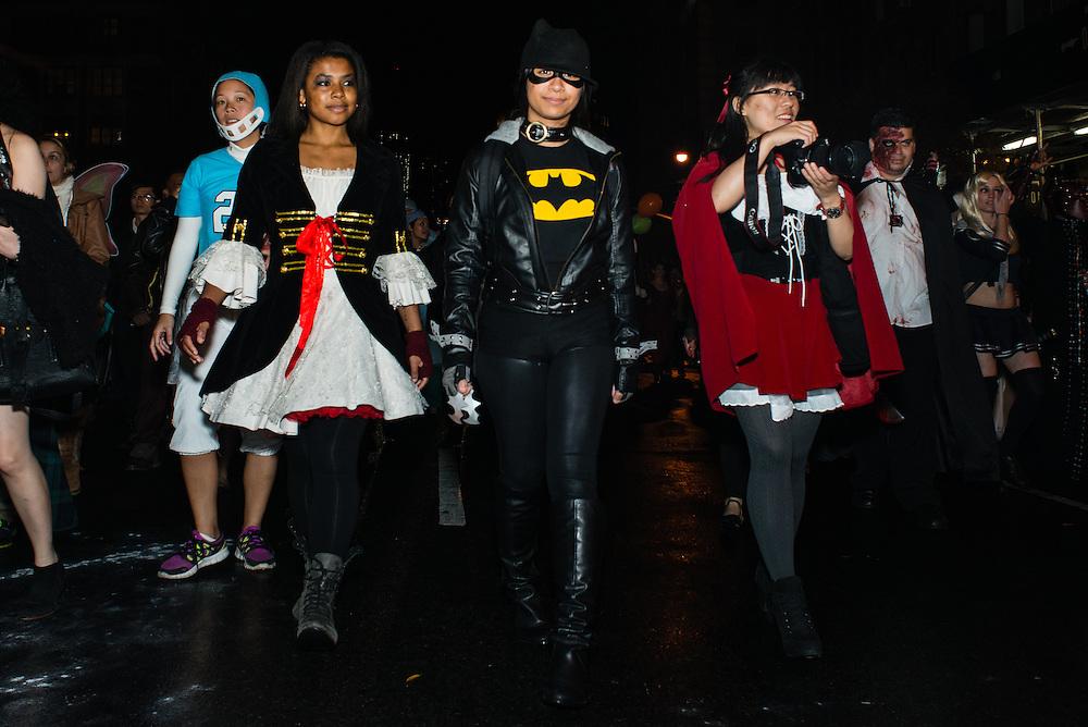NYC East Village Halloween Parade