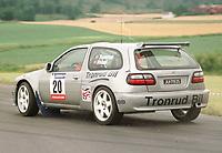 Motorsport, Nils Tronrud, Nissan Almera Kit Car, Rally Larvik 1999. Foto: Digitalsport, Jan A. Holshagen