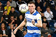QPR defender Jimmy Dunne (20)  has eyes on the ball during the EFL Sky Bet Championship match between West Bromwich Albion and Queens Park Rangers at The Hawthorns, West Bromwich, England on 24 September 2021.