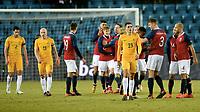 Fotball , 23. mars 2018 , privatkamp , Norge - Australia<br /> Norway - Australia<br /> Tom Rogic 23 , Aaron Mooy 15 , Milos Degenek 2 , Australia