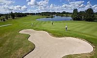 ZWOLLE - Hole 10, Golfclub Zwolle. FOTO KOEN SUYK