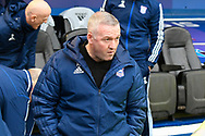 Ipswich Town manager Paul Lambert during the EFL Sky Bet League 1 match between Portsmouth and Ipswich Town at Fratton Park, Portsmouth, England on 21 December 2019.