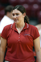 19 AUG 2006  Former Redbird's power house Laura Doornbos returns as the team's student assistant coach..Game action took place at Redbird Arena on the campus of Illinois State University in Normal Illinois.