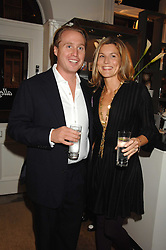 JOE and ALEX BAMFORD at a party hosted by Allegra Hicks to launch Lapo Elkann's fashion range in London held at Allegra Hicks, 28 Cadogan Place, London on 14th November 2007.<br /><br />NON EXCLUSIVE - WORLD RIGHTS