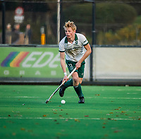 BLOEMENDAAL - Jochem Bakker (Rdam)  tijdens  hoofdklasse competitiewedstrijd  heren , Bloemendaal-Rotterdam (1-1) .COPYRIGHT KOEN SUYK