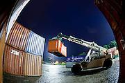 Cubatao_SP, Brasil.<br /> <br /> Empresa de logistica em Cubatao, Sao Paulo.<br /> <br /> Logistics company in Cubatao, Sao Paulo.<br /> <br /> Foto: BRUNO MAGALHAES / NITRO