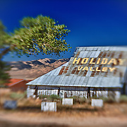 Holiday Valley Barn - Highway 138 - HDR - Lensbaby