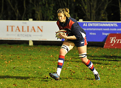 Amelia Buckland-Hurry of Bristol Ladies during warm-up - Mandatory by-line: Paul Knight/JMP - 16/12/2017 - RUGBY - Cleve RFC - Bristol, England - Bristol Ladies v Worcester Valkyries - Tyrrells Premier 15s