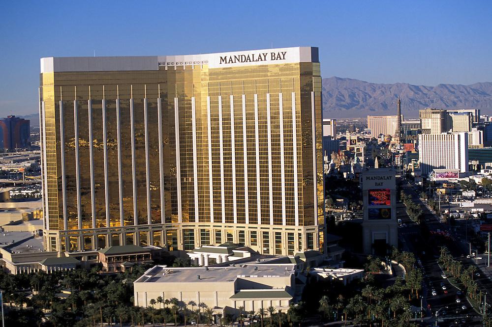 Mandalay Bay resort and casino in Las Vegas, Nevada, November 2002.