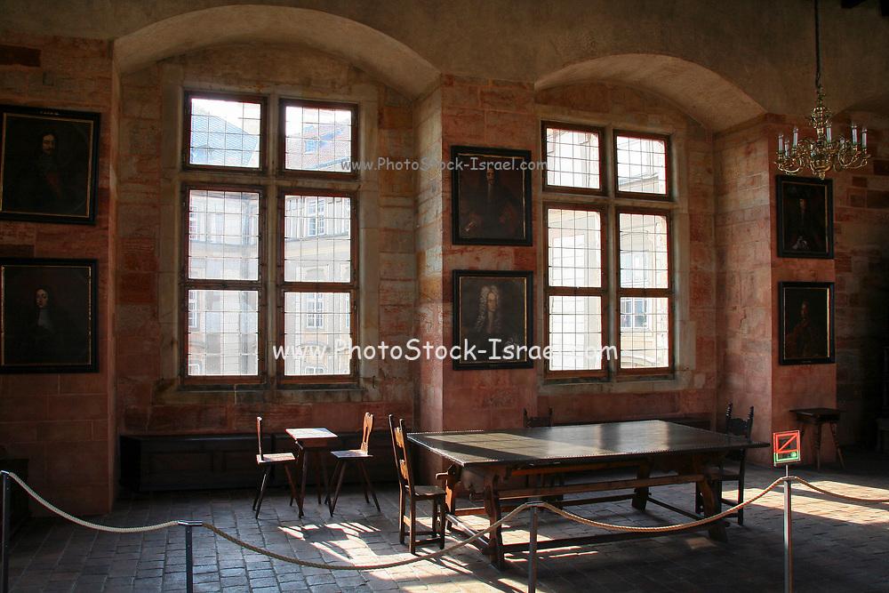 Interior of the Prague Castle, Czech Republic