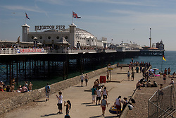 Brighton/East Sussex/England - Brighton is located on the south coast of England. is one of the largest and most famous cities by the sea in the United Kingdom.