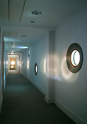 A corridor within the East London Childcare Institute, Stratford, London.