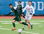Brentwood plays Fairport in the New York State Public High School Athletic Association Class AA boys soccer championship game on Sunday, Nov. 17, 2019, at Middletown.