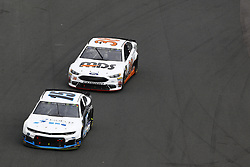 September 30, 2018 - Concord, North Carolina, United States of America - Justin Marks (15) races during the Bank of America ROVAL 400 at Charlotte Motor Speedway in Concord, North Carolina. (Credit Image: © Chris Owens Asp Inc/ASP via ZUMA Wire)