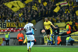 February 13, 2019 - London, England, United Kingdom - Borussia Dortmund defender Abdou Diallo controls the ball during the UEFA Champions League match between Tottenham Hotspur and Ballspielverein Borussia 09 e.V. Dortmund at Wembley Stadium, London on Wednesday 13th February 2019. (Credit: Jon Bromley | MI News & Sport Ltd) (Credit Image: © Mi News/NurPhoto via ZUMA Press)