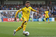 Oxford United midfielder (on loan from West Ham United) Marcus Browne (10) sprints forward with the ball during the EFL Sky Bet League 1 match between Wycombe Wanderers and Oxford United at Adams Park, High Wycombe, England on 15 September 2018.