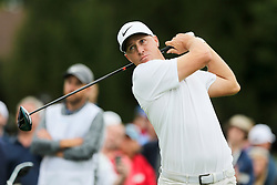 September 8, 2018 - Newtown Square, Pennsylvania, United States - Alex Noren tees off the 11th hole during the third round of the 2018 BMW Championship. (Credit Image: © Debby Wong/ZUMA Wire)