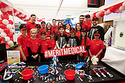 24/11/2019 repro free:<br /> Merit Medical team at the Galway Science and Technology Festival  at NUI Galway where over 20,000 people attended exhibition stands  from schools to Multinational Companies . Photo:Andrew Downes, xposure