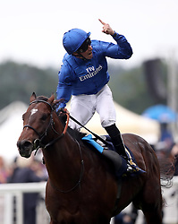 Blue Point ridden by jockey William Buick wins the King's Stand Stakes during day one of Royal Ascot at Ascot Racecourse.