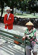 Two men, Kailua Kona, Island of Hawaii