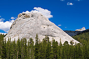 Pywiack Dome and Cathedral Peak, Tuolumne Meadows area, Yosemite National Park, California