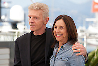 Actor Billy Hayes and director Sally Sussman at the Midnight Return film photo call at the 69th Cannes Film Festival Tuesday 17th May 2016, Cannes, France. Photography: Doreen Kennedy