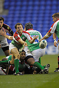 Reading, GREAT BRITAIN, Paul HODGSON during the third round Heineken Cup game, London Irish vs Ulster Rugby, at the Madejski Stadium, Reading ENGLAND, Sat., <br /> 09.12.2006. [Photo Peter Spurrier/Intersport Images]