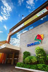 Fachada do prédio sede da FAMURS, em Porto Alegre. FOTO: Jefferson Bernardes/ Agência Preview