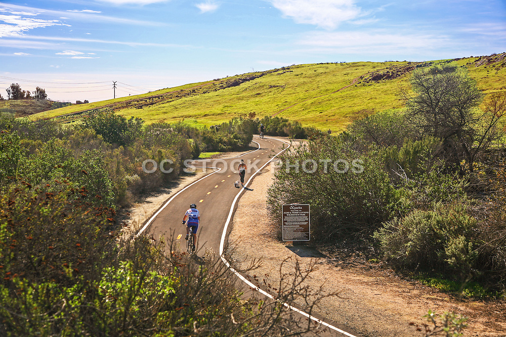 Biking and Running in Wood Canyons Wilderness Park