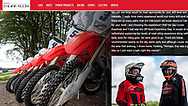 Dave Thorpe Off Road School with Honda
