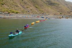 Kayakers At Santa Cruz Island