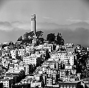 Telegraph Hill, from downtown, San Francisco