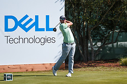 March 21, 2018 - Austin, TX, U.S. - AUSTIN, TX - MARCH 21: Bernd Wiesberger hits a tee shot during the First Round of the WGC-Dell Technologies Match Play on March 21, 2018 at Austin Country Club in Austin, TX. (Photo by Daniel Dunn/Icon Sportswire) (Credit Image: © Daniel Dunn/Icon SMI via ZUMA Press)