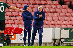 Tottenham Hotspur manager Jose Mourinho encourages his players - Mandatory by-line: Nick Browning/JMP - 23/12/2020 - FOOTBALL - Bet365 Stadium - Stoke-on-Trent, England - Stoke City v Tottenham Hotspur - Carabao Cup