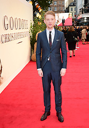Domhnall Gleeson attending the world premiere of Goodbye Christopher Robin at the Odeon in Leicester Square, London. See PA story SHOWBIZ Goodbye. Picture Date: Wednesday 20 September. Photo credit should read: Ian West/PA Wire