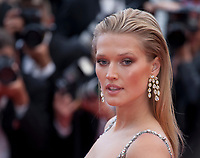 Toni Garrn at the Solo: A Star Wars Story gala screening at the 71st Cannes Film Festival, Tuesday 15th May 2018, Cannes, France. Photo credit: Doreen Kennedy