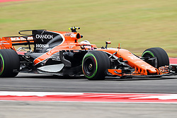 October 20, 2017 - Austin, Texas, U.S - Stoffel Vandoome of Belguim (2) in action before the Formula 1 United States Grand Prix race at the Circuit of the Americas race track in Austin,Texas. (Credit Image: © Dan Wozniak via ZUMA Wire)
