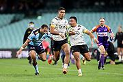 Salesi Rayasi. Waratahs v Hurricanes. 2021 Super Rugby Trans Tasman Round 1 Match. Played at Sydney Cricket Ground on Friday 14 May 2021. Photo Clay Cross / photosport.nz