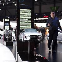 Audi e-tron Model, Geneva Motor Show 2011