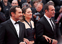Gilles Lellouche, Marion Cotillard and Jean Dujardin at the La Belle Epoque gala screening at the 72nd Cannes Film Festival Monday 20th May 2019, Cannes, France. Photo credit: Doreen Kennedy