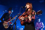 German folk-rock singer-songwriter Suzan Köcher supporting Still Corners at Hafen 2 in Offenbach