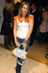 """WILLA KESWICK at a party hosted by Christopher Bailey to celebrate the launch of """"The Snippy World of New Yorker Fashion Artist Michael Roberts"""" held at Burberry, 21-23 New Bond Street, London on 20th September 2005.<br /><br />NON EXCLUSIVE - WORLD RIGHTS"""